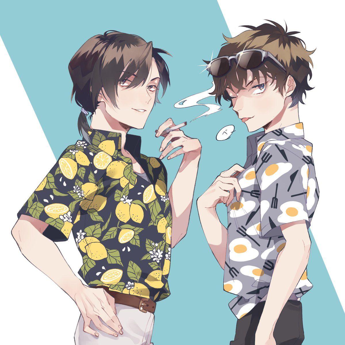 そば粉 on Detective, Anime, Conan