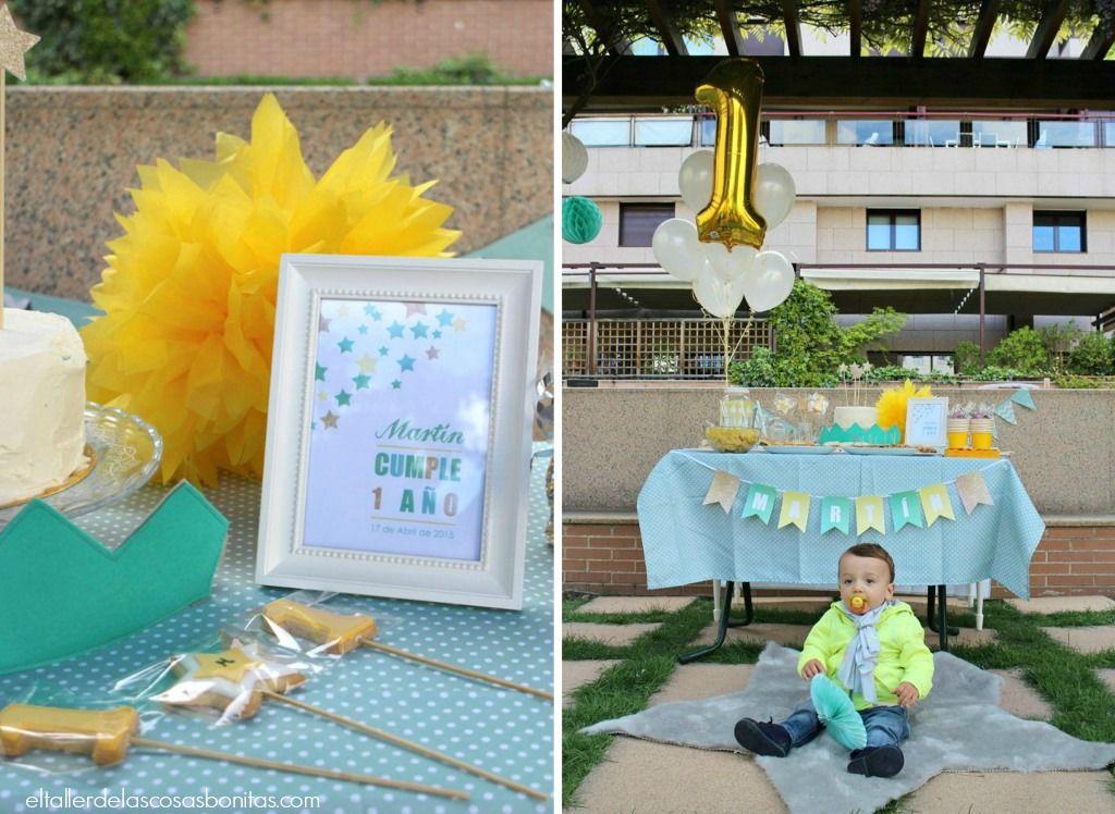 fiesta de cumpleaos para un beb de un ao el taller de las cosas bonitas