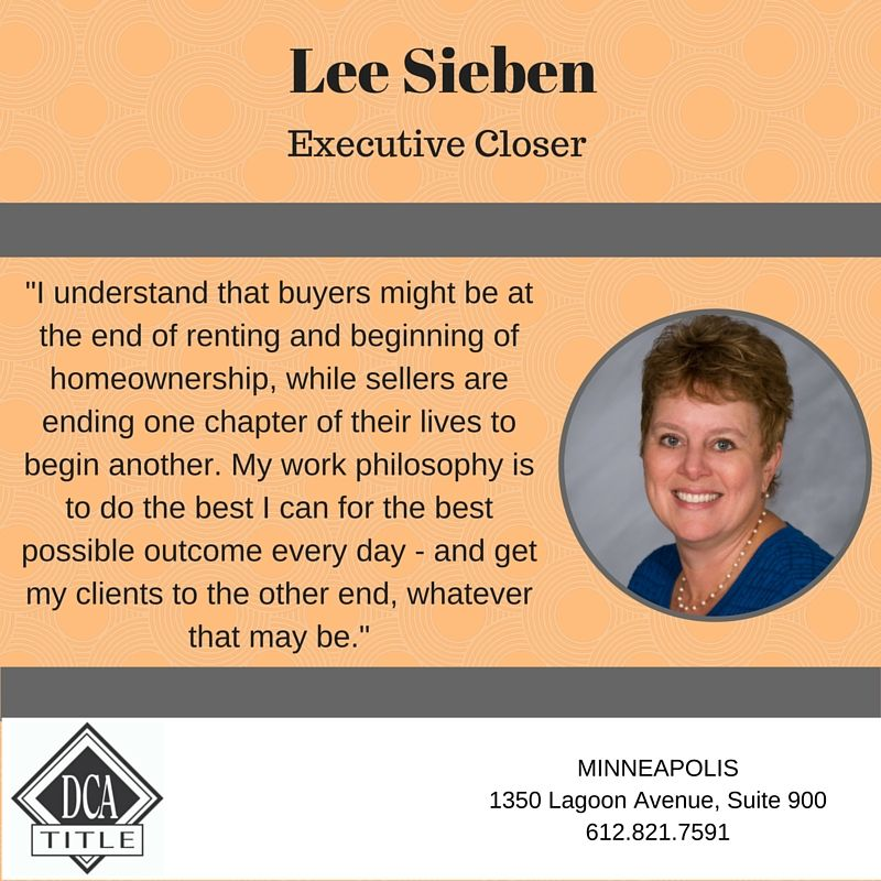 Lee Sieben Dca Title Executive Closer Title Insurance