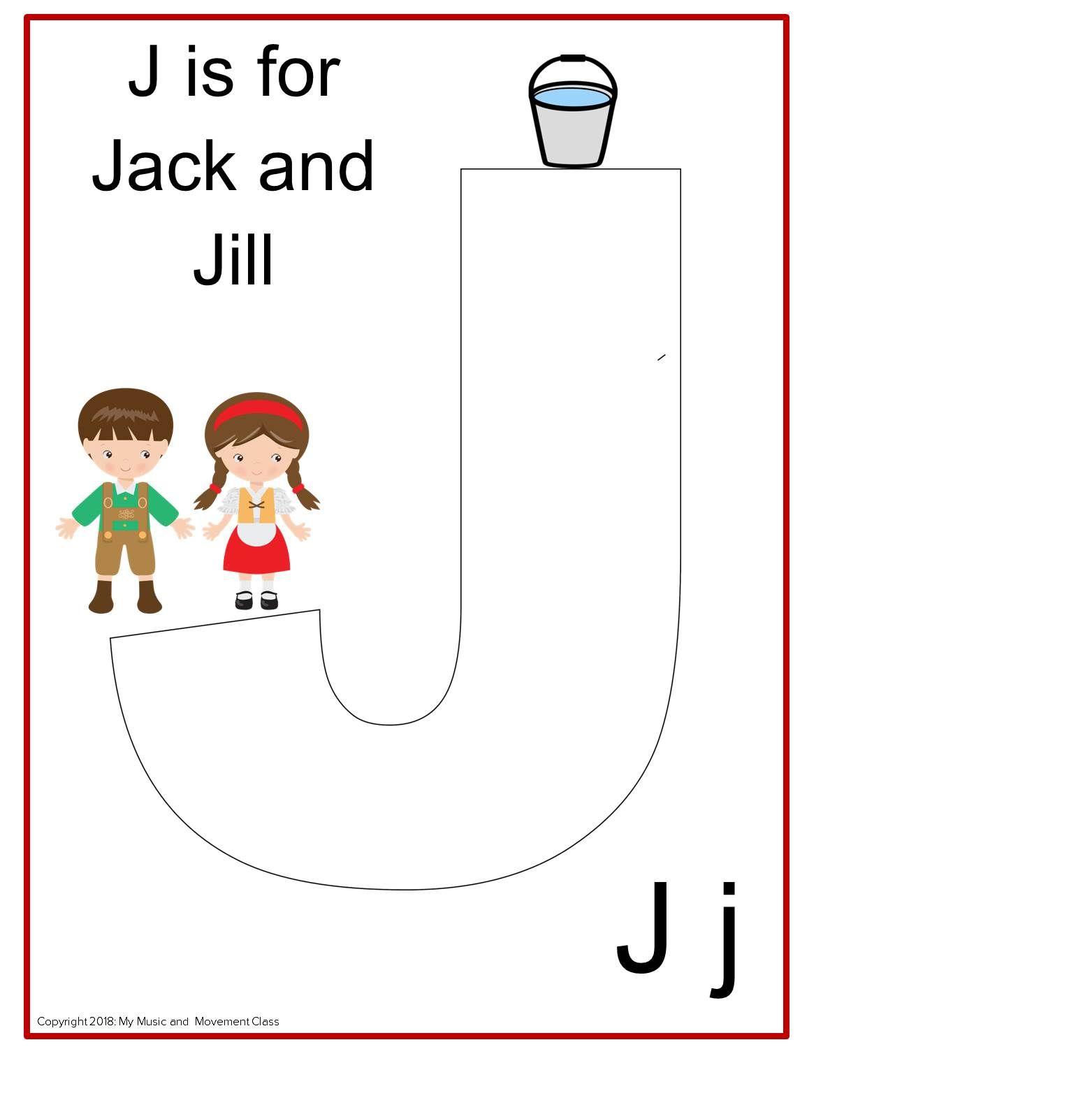 Jack And Jill Nursery Rhyme Music Activity Music And Movement Music And Movement Music Activities Jack And Jill