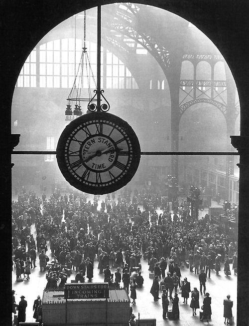 Pennsylvania Station, NYC, 1943.