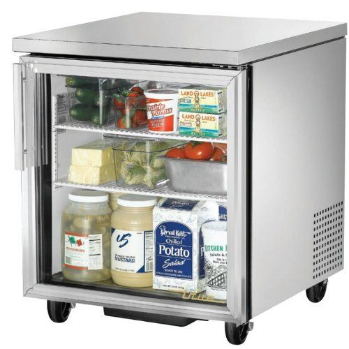 True Tuc 27g Ada 27 Undercounter Cooler Glass Door By True