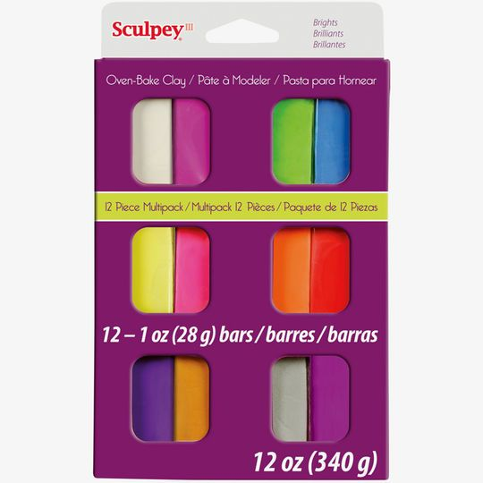 Sculpey Iii Oven Bake Clay Multipack Products Pinterest Oven