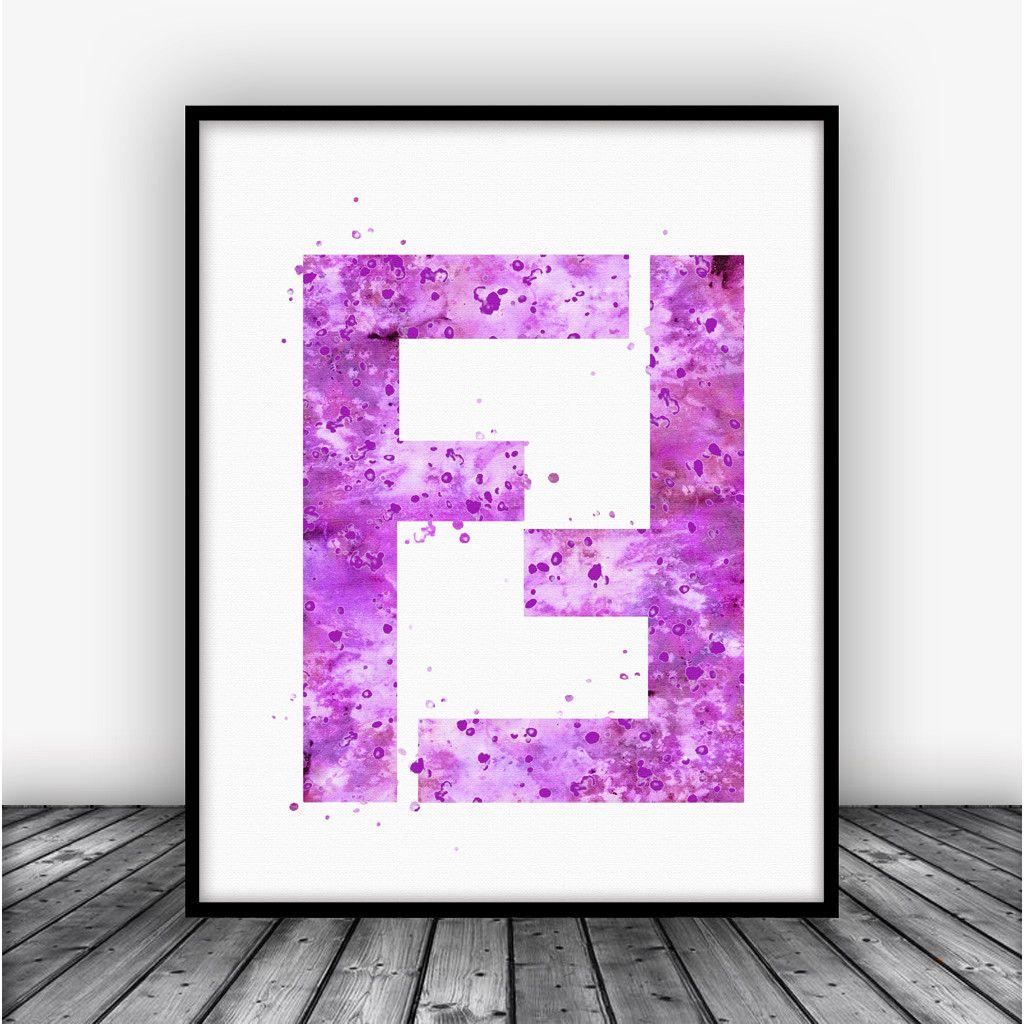 Fendi Logo Art Print Poster Pink Fendi wall art, Posters