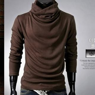 Buy 'Imagine Men – Turtleneck Knit Top' at YesStyle.com plus more ...