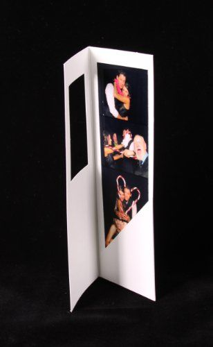 50 White Photo Booth Frame Folders for 2x6 Photo Strips * Learn more by visiting the image link.