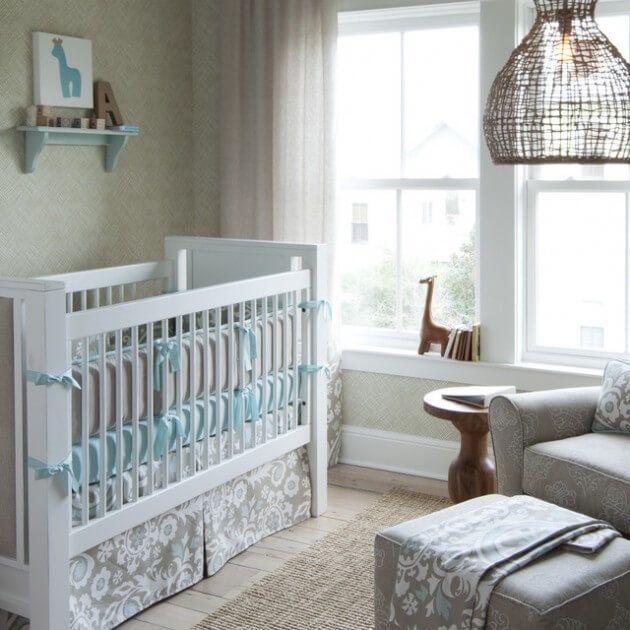 Quarto de Bebê – Fotos e Ideias para Decoração - Arquidicas