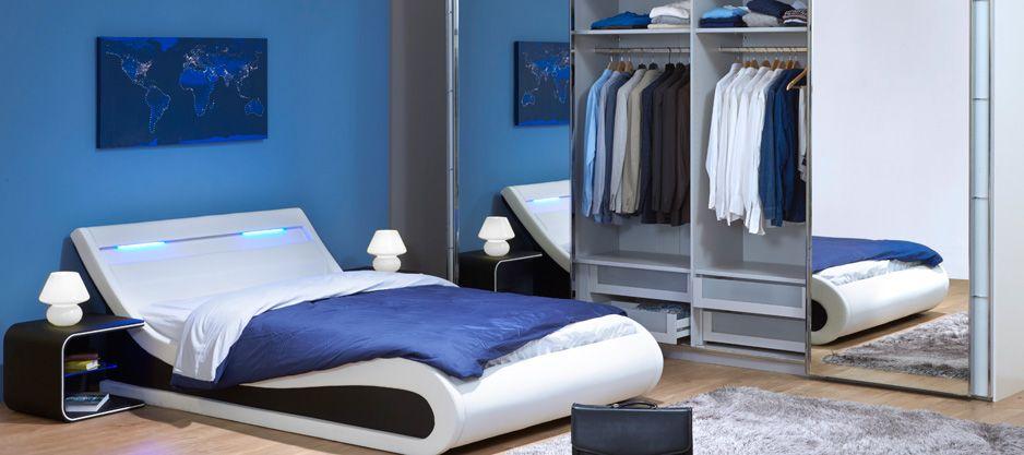 Betten und Schlafzimmer - - coloris blanc, À COMPOSER, DÈS