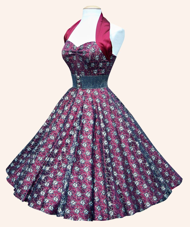 50s #Halterneck #Dress #PartyDress | 50s dresses | Pinterest