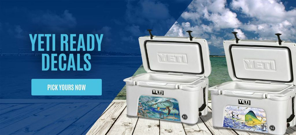 Rugged yeti ready decals are the best way to customize your yeti cooler choose from