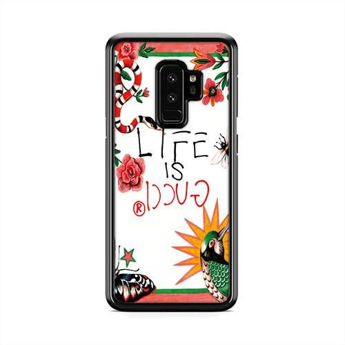 online store 59046 11ef3 Life is Gucci Samsung Galaxy S9 Plus Case | Caserisa #gucci #snake ...