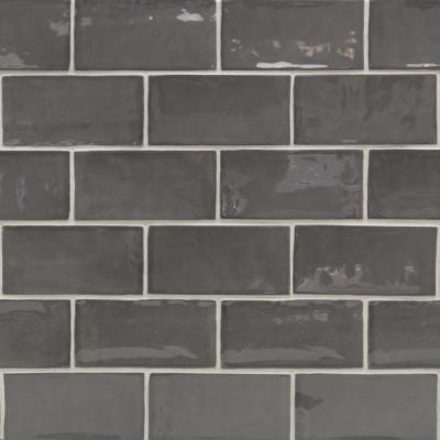 Ivy Hill Tile Catalina Driftwood 3 In X 6 In X 8 Mm Polished Ceramic Subway Wall Tile 44 Pieces 5 38 Sq Ft Case Ext3rd101719 The Home Depot Ivy Hill Tile Subway