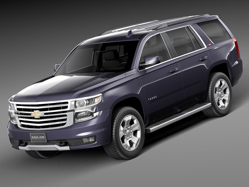 2015 Chevrolet Tahoe 3d Model 3d Model Chevrolet Tahoe Chevy Tahoe Z71 Chevy Tahoe