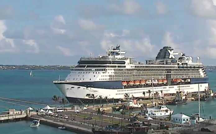 Celebrity Summit Seen By Crusie Ship Port Webcam Cruise Port - Webcams on cruise ships