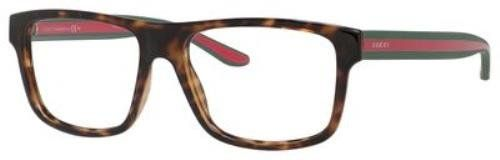 6a39fc9787 Optical eyeglasses frame Gucci Acetate Havana - Green (GG 1119 M15)     For  more information