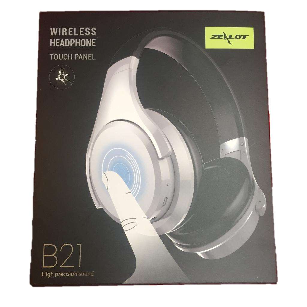 364e37d865d Zealot B21 Noise Cancelling Deep Bass Touch Control Wireless Bluetooth  Headphones With Mic #zealotb21 #zealot #bluetoothheadphones  #wirelessheadphones # ...