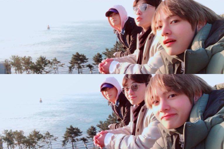 Bts S V Shares Photos From Trip With Park Seo Joon And Park Hyung Sik Soompi Park Hyung Sik Joon Park Park Hyungsik Wallpaper