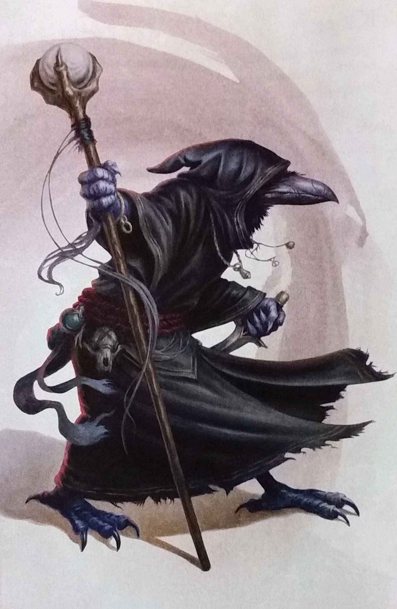 Pin By Charlaquin On Kenku In 2019 Fantasy Characters Dungeons