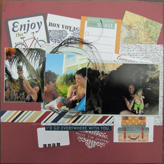 """Enjoy"" Layout (inspired by Christy Riopel)"