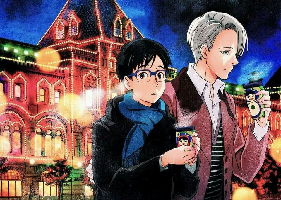 Official poster from Spoon 2d vol. 20!! Anime:Yuri!!! on Ice