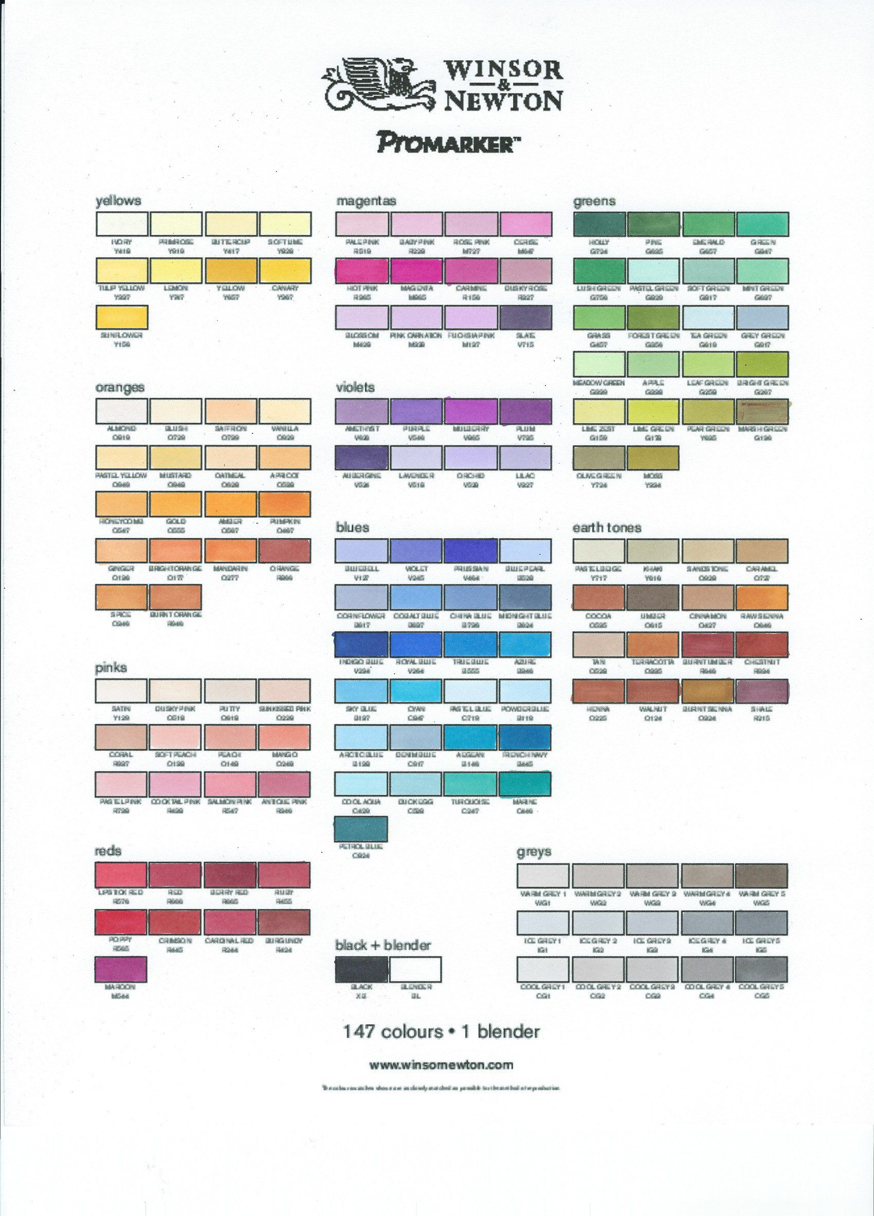 Promarker personal colour chart on express it cardsock adding promarker personal colour chart on express it cardsock nvjuhfo Choice Image