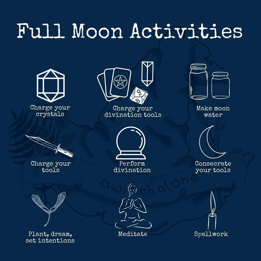 January Full Amp New Moon Rituals In