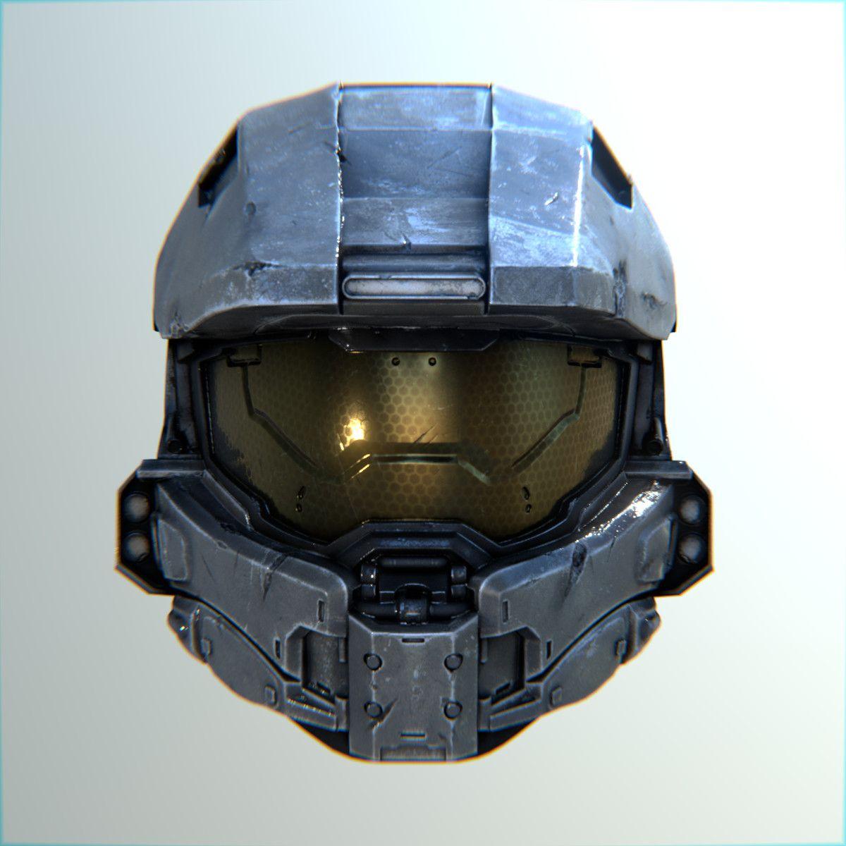 3d Master Chief Helmet Master Chief Halo Master Chief