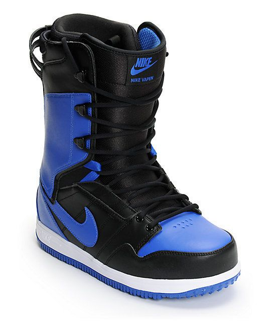 on feet shots of reputable site discount shop Nike SB Vapen Men's Snowboarding Boots Blue MSRP $300 NEW ...