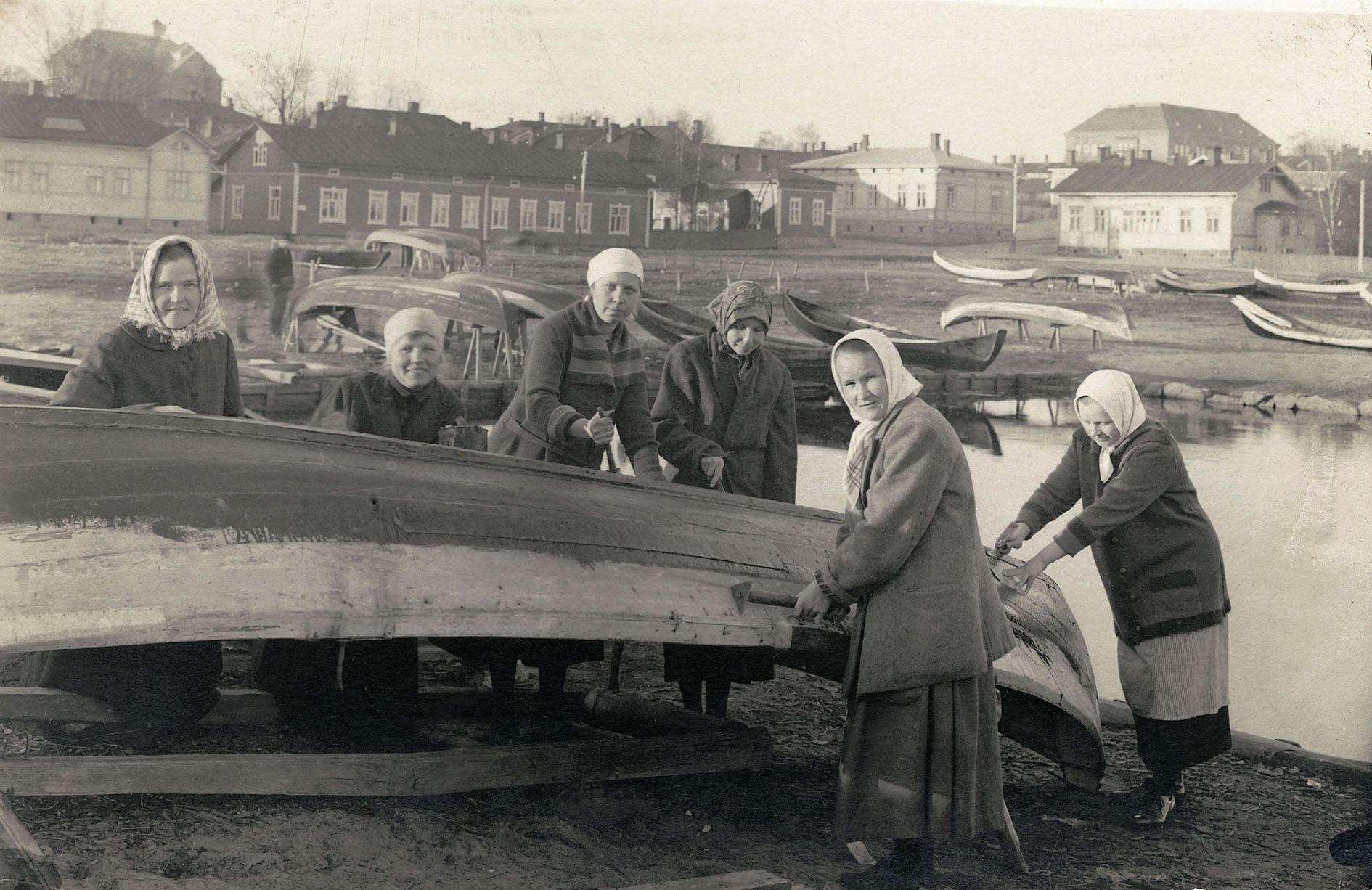 Savolaisvene Kuopion museossa.