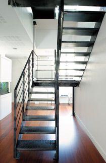 Escalier 2 4 Tournant Industriel Escaliers Decors Escalier