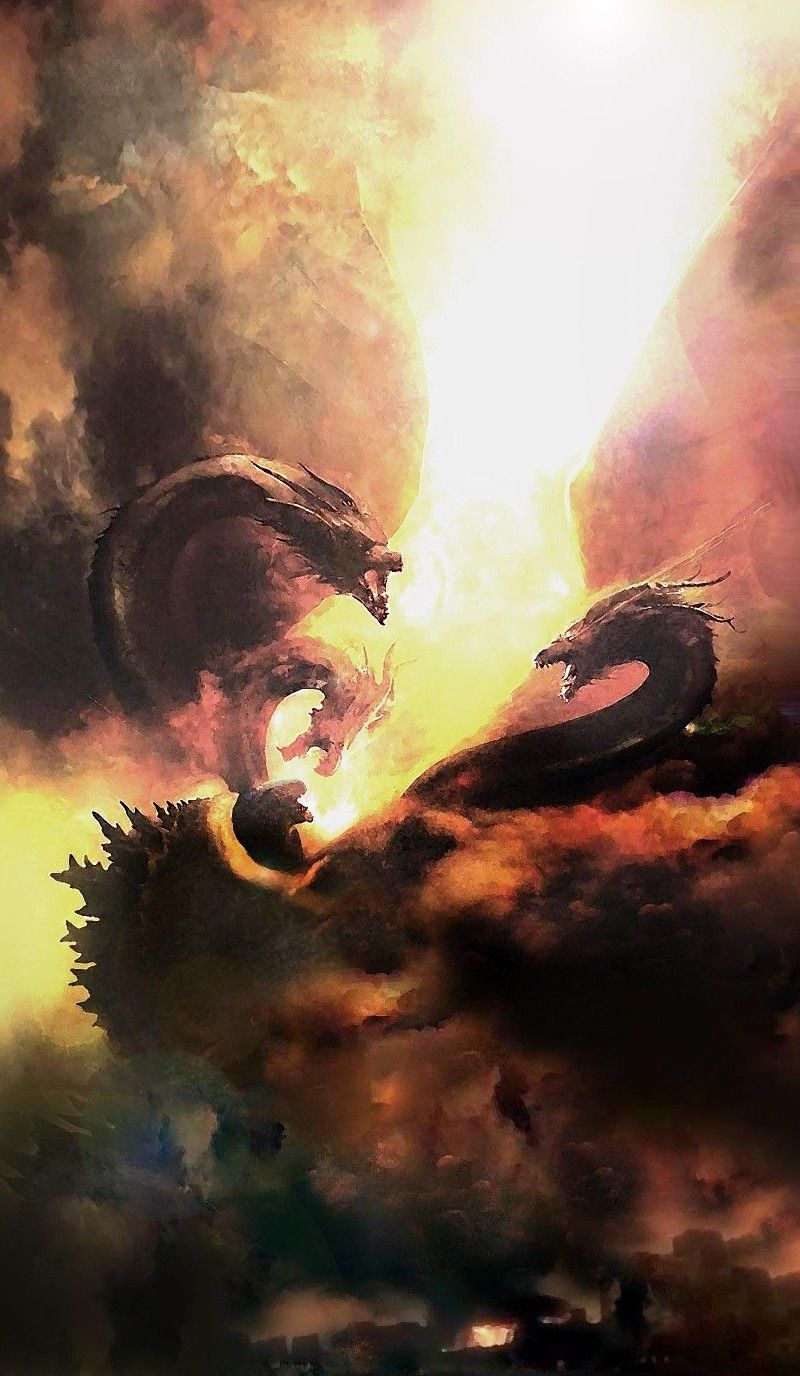 Godzilla King of the Monsters Годзилла