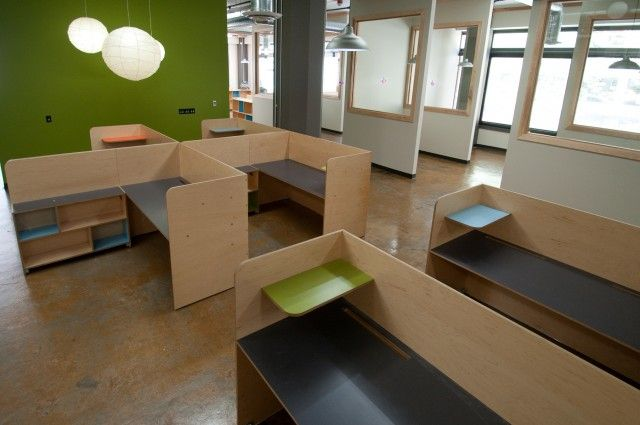 Taphandles Offices In Seattle WA Desks And Furniture By Kerf Design A Mode