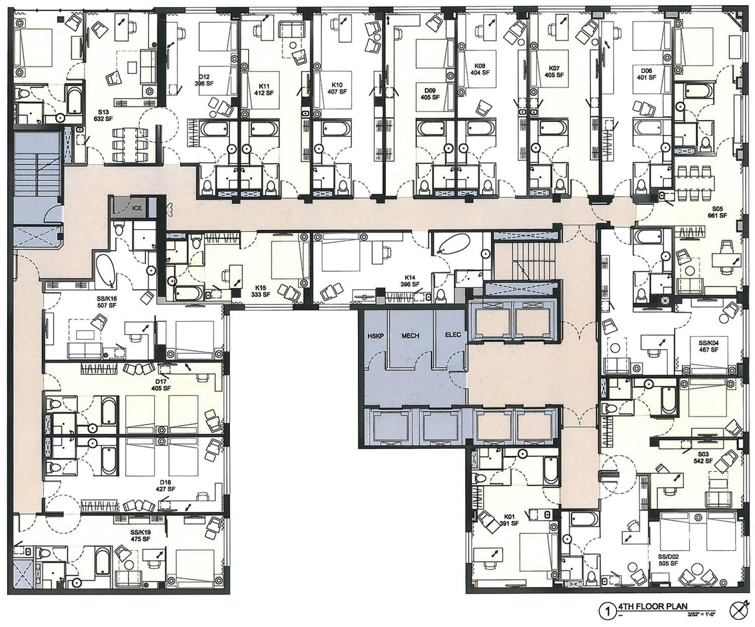 Jw Marriott Hotel Houston Hotel Plan Hotel Design Architecture Hotel Floor Plan