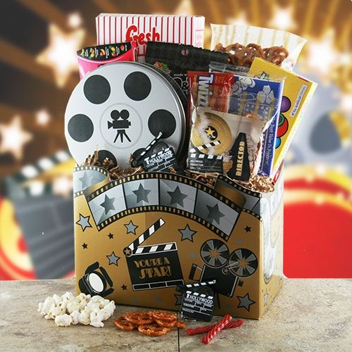 Movie Time Gift Basket