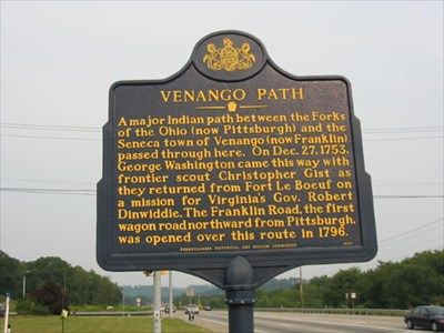 This Marker Is Located In Cranberry Township Of Butler County Not Far From The Intersection Of The Pen Pennsylvania History Historical Marker Historical Facts