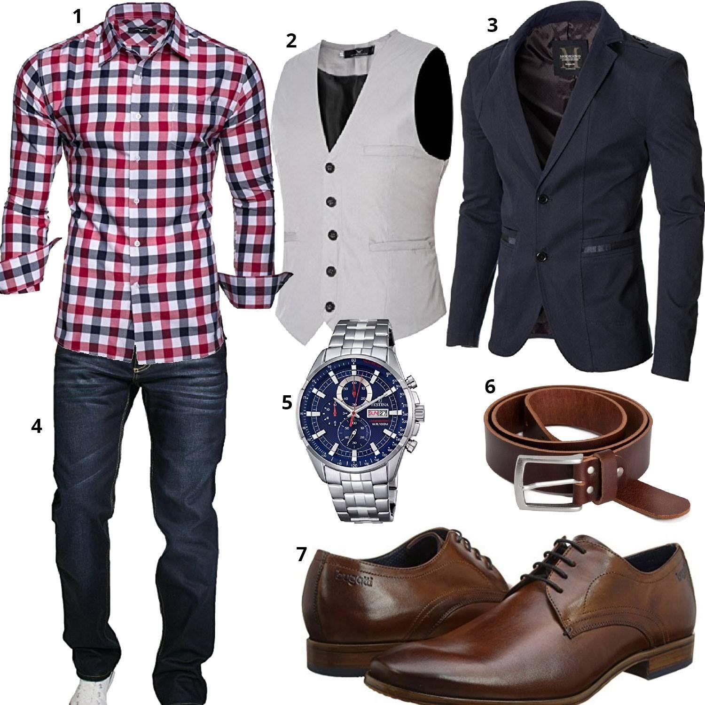 style mode fashion schuhe m nner menswear suit hemd weste sakko festina bugatti. Black Bedroom Furniture Sets. Home Design Ideas