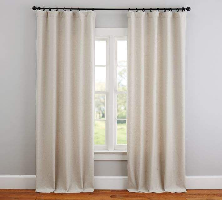Calhan Tweed Curtain Neutral Curtains Tweed Curtains Curtains For Grey Walls
