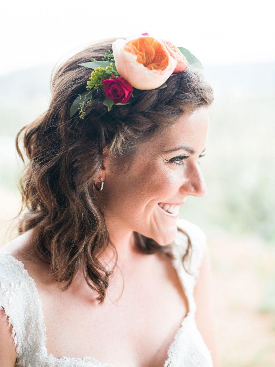 15 half-up wedding hairstyles with braids | wedding
