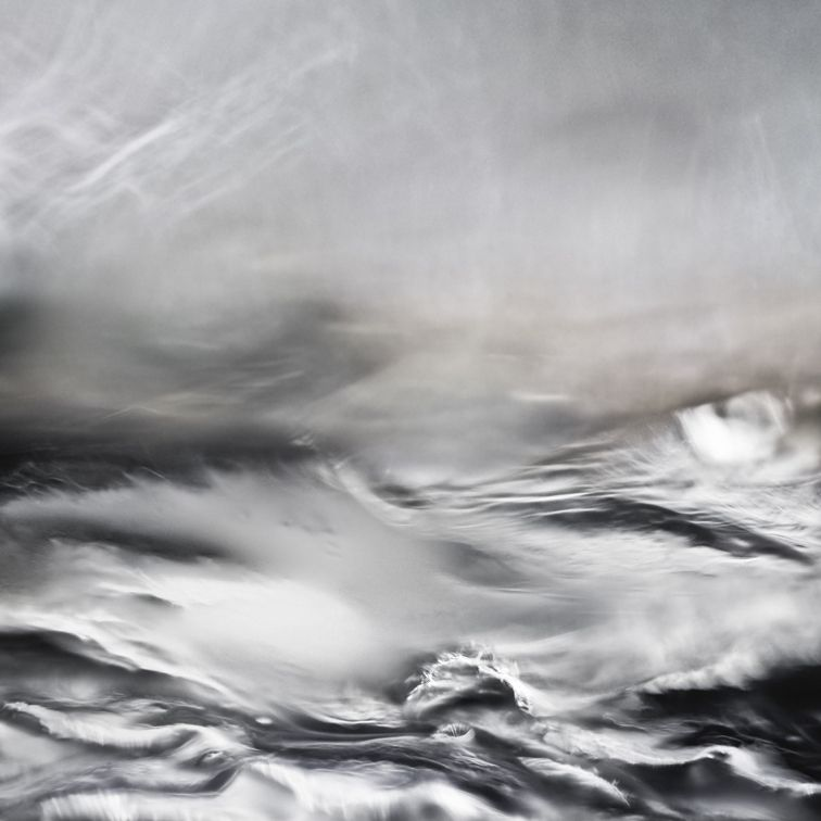 #RickCopsey   Seascape 10.05 (2010)   Digital C Type Metallic Print with Acrylic Face-Mount on Aluminium (20 x 20 cm) #ContemporaryArt #Photography