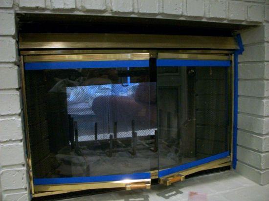 How to paint a brass fireplace screen brass fireplace screen how to paint a brass fireplace screen planetlyrics Images