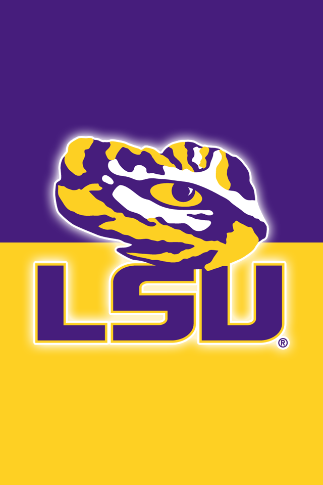 Get A Set Of 12 Officially Ncaa Licensed Lsu Tigers Iphone Wallpapers With Your Team S Exact Digital Colo Lsu Tigers Football Lsu Tigers Lsu Football