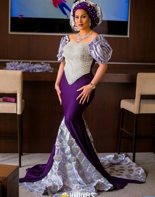 Gorgeous! Caroline Danjuma Turns Into An Arabian Diva For
