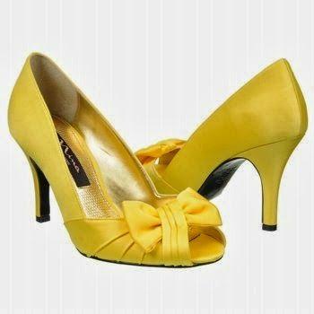 Canary Yellow Bridesmaid Heels