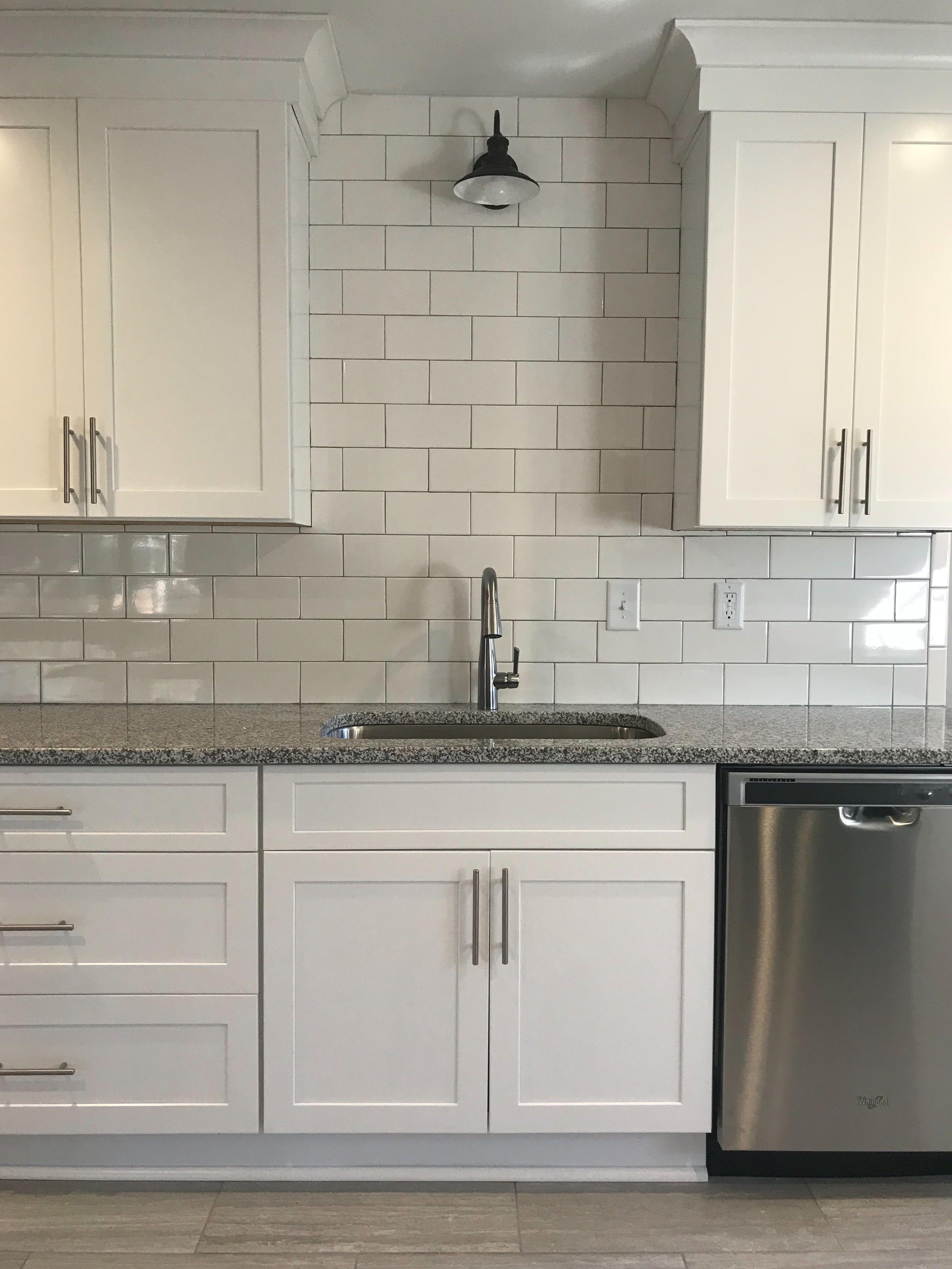 Fixer Upper White Kitchen Kitchen Remodel Small Black Light