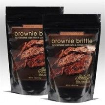 Brownie Brittle is a transcendent snack; one that attempts, and successfully manages, to replicate the flavor of a brownie in what can only be described as a light and crunchy cookie.