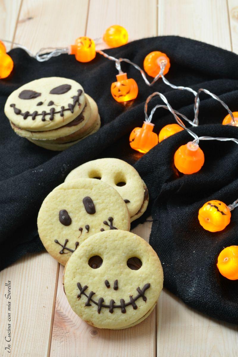 Frollini alla nutella di Halloween Ricetta Ricette