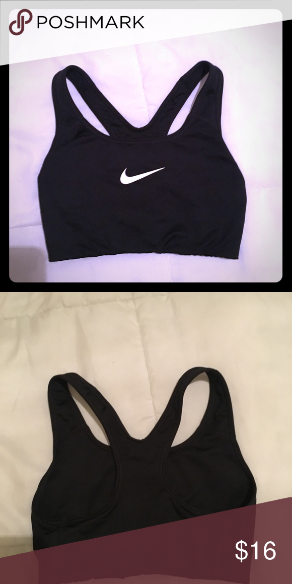 115c6721bac2 Nike Sports Bra Black Nike Sports Bra. Worn only once. Nike Intimates & Sleepwear  Bras