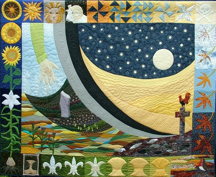 Pictorial Quilts - Sheena J. Norquay Beautiful work ... : pictorial quilt artists - Adamdwight.com
