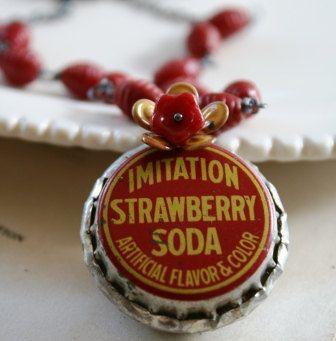 ~ Red Strawberry Soda ~