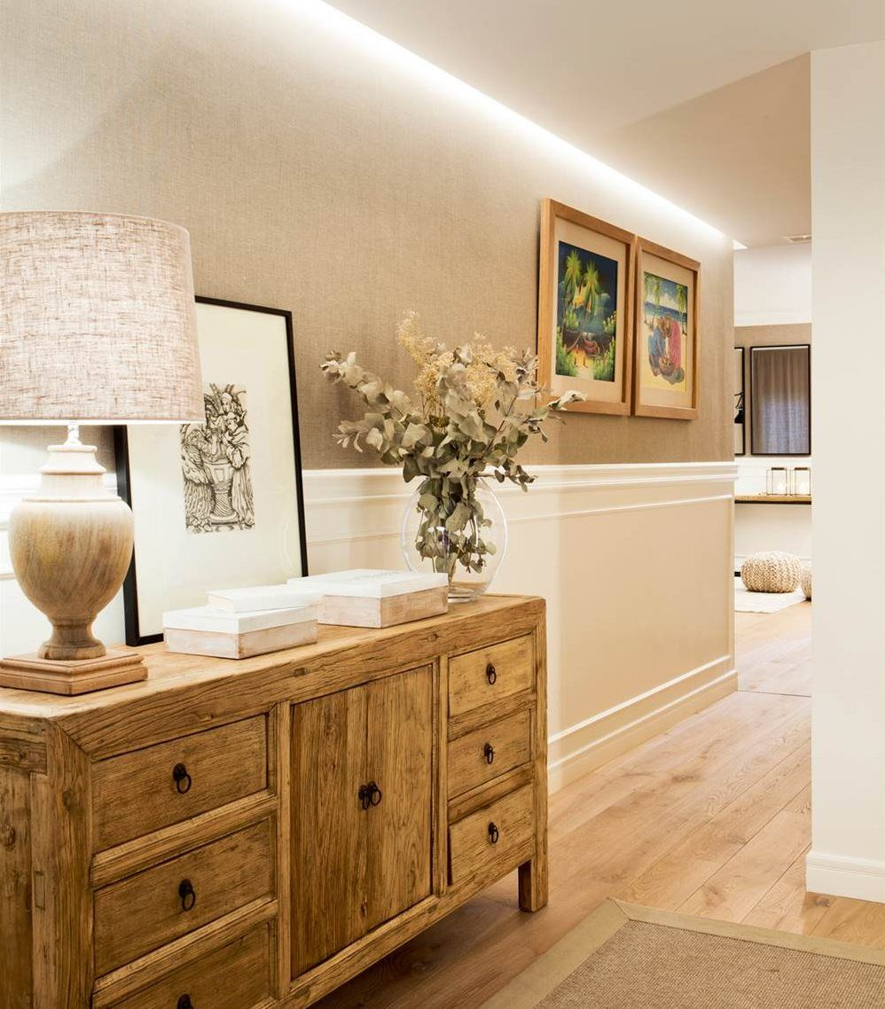 Muebles Pintura Papel Pintado Iluminaci N Detalles Para  # Muebles Muy Bonitos